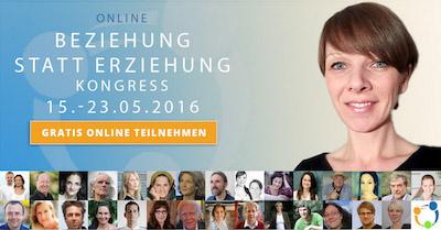 Online-Kongress Beziehung statt Erziehung