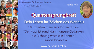 Online-Konferenz Quantensprungbrett