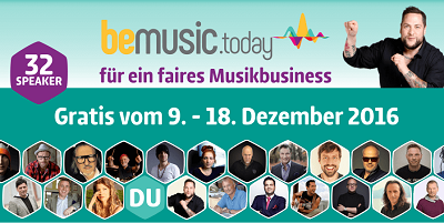 Be Music Today Online-Kongress