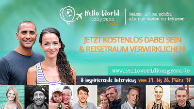 Hello World Online-Kongress Teil 2 - Werde digitaler Nomade