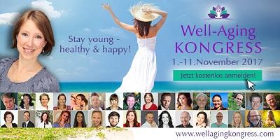 Well-Aging Online-Kongress | Lebe lange, vital und glücklich
