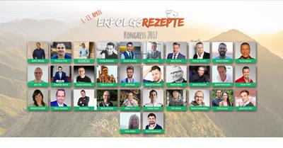 Erfolgsrezepte Online-Kongress - Das Rezept für Deinen Erfolg
