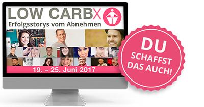 Low Carb X Online-Kongress | Erfolgsstorys vom Abnehmen