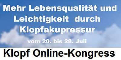 Klopf Online-Kongress   Klopfakupressur erleben