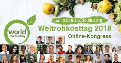 Weltrohkosttag Online-Kongress
