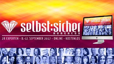 Selbstsicher Online-Kongress   Für ein selbstbestimmtes Leben