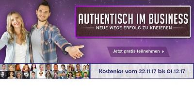 Authentisch im Business Online-Kongress