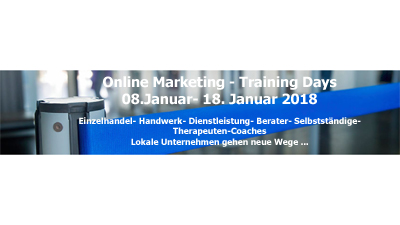 Online Marketing Training Days | Bring Dein Unternehmen online