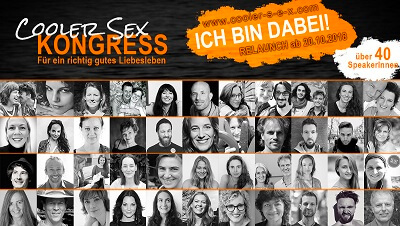 Cooler Sex Online-Kongress Header