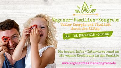 Veganer Familien Online-Kongress