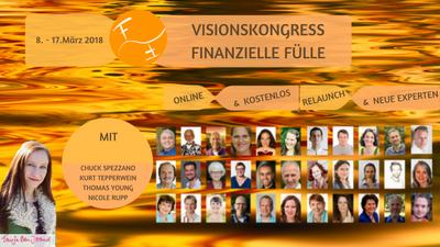 Finanzielle Fülle Vision Online-Kongress
