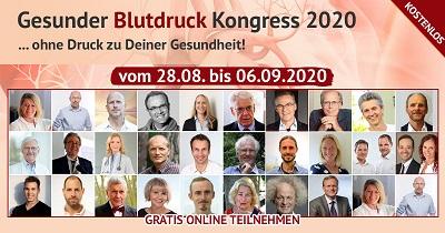 Gesunder Blutdruck Online-Kongress 2020