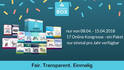 Inspiration Box Online-Kongress