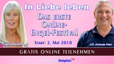 Engel-Festival Online-Kongress   In Liebe leben