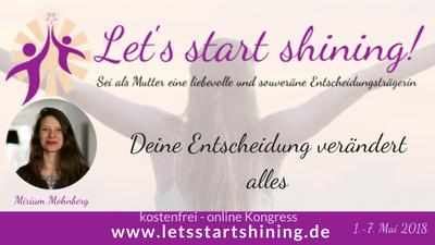 Let´s start shining Online-Kongress