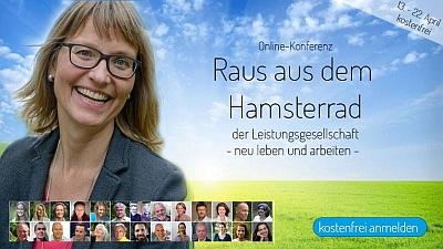 Raus aus dem Hamsterrad Online-Konferenz