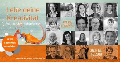 Lebe deine Kreativität Online-Kongress