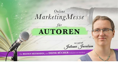 Online Marketing Messe für Autoren
