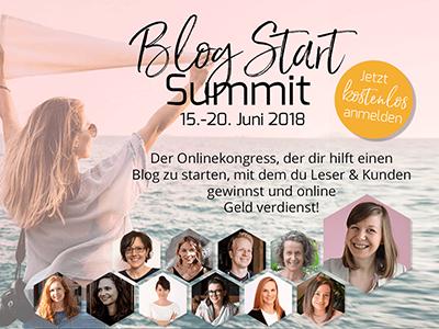 Blog Start Summit | Starte Deinen eigenen Blog