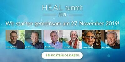 Heal Summit 2019 | Eine neue Ära der Heilung mit int. Experten