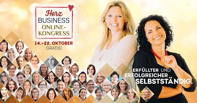 Herzensbusiness Online-Kongress | Erfüllter & erfolgreicher selbständig sein