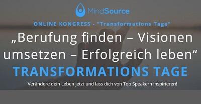MindSource Transformations Tage
