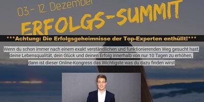 Erfolgs Summit | Erfolgsgeheimnisse der Top-Experten