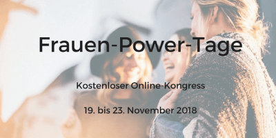 Frauen Power Tag Online-Kongress