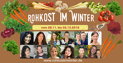 Rohkost im Winter Online-Kongress