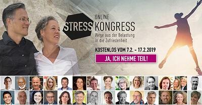 Stress Online-Kongress | Wege aus der Belastung in die Zufriedenheit