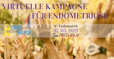 "Endometriose Online-Kongress   8. Worlwide ""EndoMarch"""