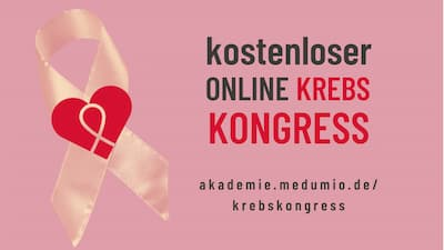 Krebs Online-Kongress Header
