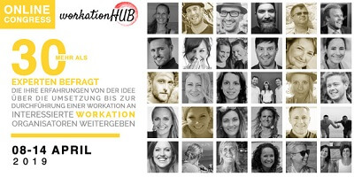 Workation Hub Online-Kongress
