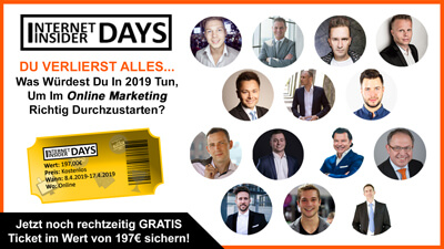 Internet Insider Days Online-Kongress