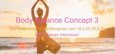 Body Balance Concept Online-Kongress