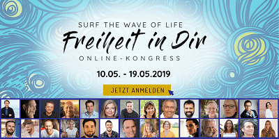 Freiheit in Dir Online-Kongress | surf the wave of life