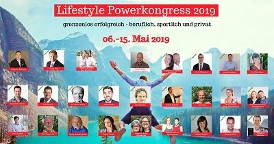 Lifestyle Power Online-Kongress |  Erfolgreich - beruflich, sportlich, privat