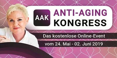 Anti-Aging Online-Kongress Header