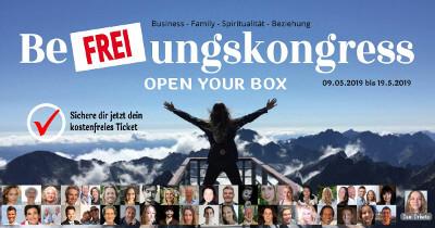 Be-FREI-ungskongress | Gehe den ersten Schritt