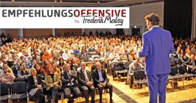 Empfehlungsoffensive von Frederik Malsy