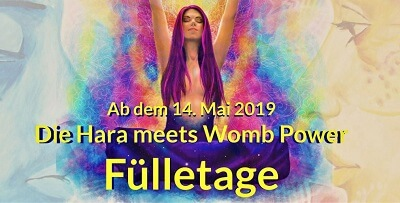 Fülletage von Hara meets Womb Power
