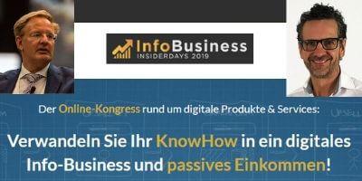 Info-Business Insiderdays | Know-How wird zu Umsatz