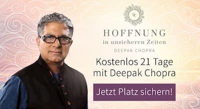 Meditation mit Deepak Chopra   21 Tage gratis