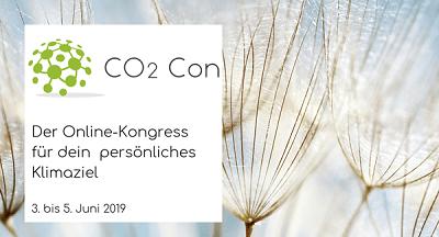 CO2 Con Online-Kongress   dein persönliches Klimaziel