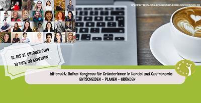 Gründerinnen Online-Kongress | Café, Manufaktur, Atelier