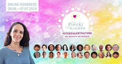 Potenzilaentfaltung für Glückskinder Online-Kongress