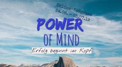 Power of Mind Online-Kongress   Erfolg beginnt im Kopf