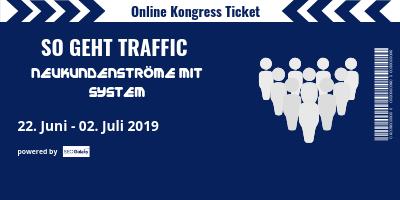So geht Traffic Online-Kongress   Neukundenströme mit System