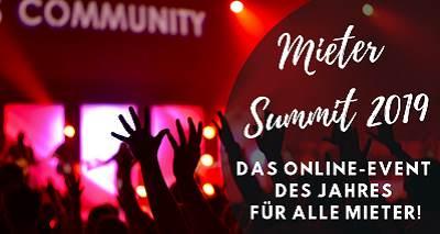 Mieter Summit - Mieter Rechte, Kündigung Wohnung, ...