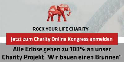 Rock Your Life Charity Online-Kongress